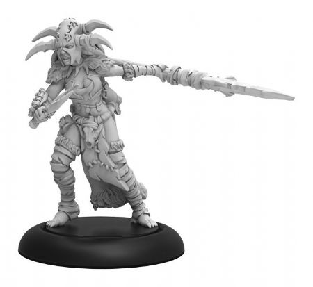 Tharn Blood Shaman – Circle of Orboros Warcaster Attachment (metal/resin)